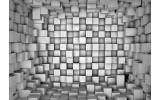 Fotobehang 3D | Grijs | 416x254
