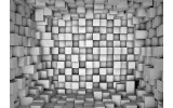 Fotobehang Vlies | 3D | Grijs | 368x254cm (bxh)