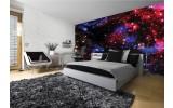 Fotobehang Papier Nacht, Sterren | Blauw | 368x254cm