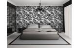 Fotobehang Bloemen, Slaapkamer | Grijs | 416x254