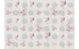Fotobehang Papier Vlinder | Roze | 254x184cm