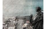 Fotobehang Nicolaas Copernicus | Grijs | 104x70,5cm