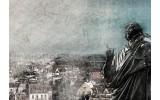 Fotobehang Vlies | Nicolaas Copernicus | Grijs | 368x254cm (bxh)