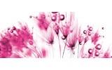 Fotobehang Bloemen | Roze, Wit | 250x104cm
