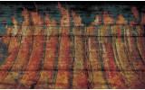 Fotobehang Industrieel | Oranje | 312x219cm