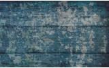 Fotobehang Papier Industrieel | Blauw | 368x254cm