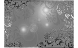 Fotobehang Klassiek | Zilver, Grijs | 104x70,5cm