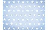 Fotobehang Papier Sterren | Blauw, Wit | 368x254cm