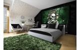 Fotobehang Alchemy Gothic   Groen   250x104cm