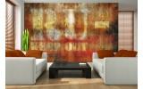 Fotobehang Papier Industrieel | Oranje | 368x254cm