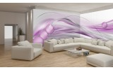Fotobehang Vlies Design | Paars, Grijs | GROOT 624x219cm
