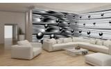 Fotobehang Vlies Design | Zilver, Grijs | GROOT 832x254cm