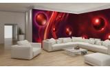Fotobehang Vlies Design | Rood | GROOT 624x219cm