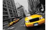 Fotobehang New York | Geel | 312x219cm
