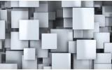 Fotobehang 3D, Design | Blauw | 152,5x104cm
