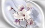 Fotobehang Bloemen, Magnolia | Paars | 208x146cm
