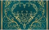 Fotobehang Klassiek | Groen, Geel | 104x70,5cm