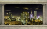 Fotobehang Skyline, Modern | Grijs | 312x219cm