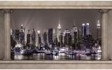 Fotobehang Skyline | Grijs | 104x70,5cm
