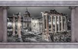 Fotobehang Papier Steden, Muur | Grijs | 254x184cm