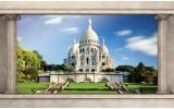 Fotobehang Frankrijk, Parijs | Blauw | 416x254
