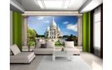Fotobehang Frankrijk, Parijs | Blauw | 208x146cm