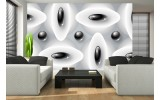 Fotobehang Modern | Zwart, Wit | 152,5x104cm