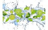 Fotobehang Keuken, Fruit | Groen | 416x254