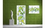 Fotobehang Keuken | Groen | 91x211cm