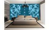 Fotobehang Papier Klassiek | Turquoise, Blauw | 368x254cm