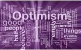 Fotobehang Papier Tekst, Optimisme | Paars | 368x254cm