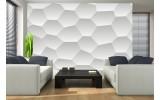 Fotobehang Design | Wit, Grijs | 104x70,5cm