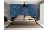 Fotobehang Klassiek | Blauw, Groen | 104x70,5cm