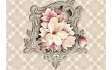 Fotobehang Papier Magnolia, Bloem | Crème | 254x184cm