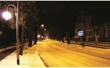 Fotobehang Straat | Geel, Zwart | 416x254