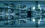 Fotobehang New York | Blauw | 208x146cm