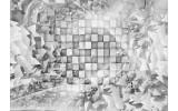 Fotobehang Modern | Grijs, Zilver | 152,5x104cm