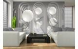 Fotobehang 3D, Modern | Wit | 208x146cm