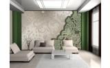 Fotobehang Modern | Groen, Grijs | 208x146cm