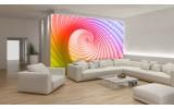 Fotobehang Papier Abstract | Roze, Paars | 254x184cm