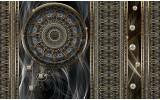 Fotobehang Klassiek | Bruin, Grijs | 104x70,5cm