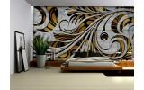 Fotobehang Papier Abstract | Grijs, Bruin | 368x254cm