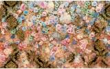 Fotobehang Papier Bloemen, Klassiek | Roze | 368x254cm