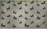 Fotobehang Paarden | Grijs | 104x70,5cm