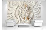 Fotobehang 3D, Modern | Goud | 104x70,5cm