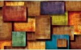 Fotobehang Papier 3D, Modern | Oranje | 254x184cm