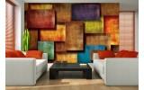 Fotobehang 3D, Modern | Oranje | 152,5x104cm
