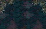 Fotobehang Papier Muur | Paars | 368x254cm