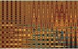 Fotobehang 3D, Modern | Oranje | 416x254