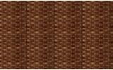 Fotobehang Papier Ratan, Landlijk | Bruin | 254x184cm